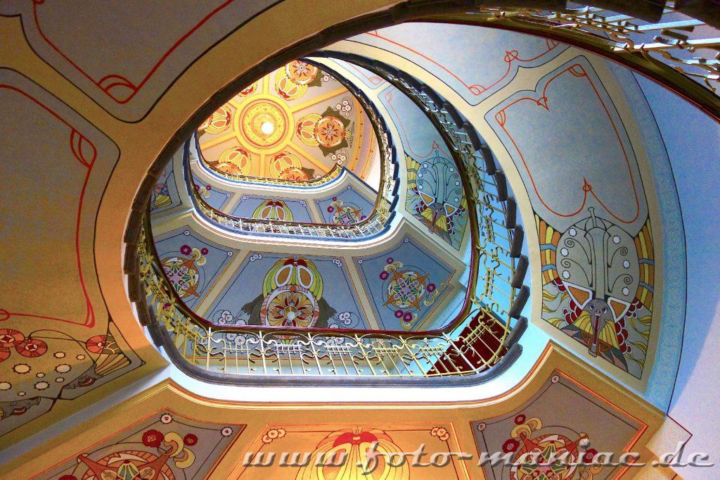 Sehenswerte Treppen in einem Rigaer Jugendstilhaus