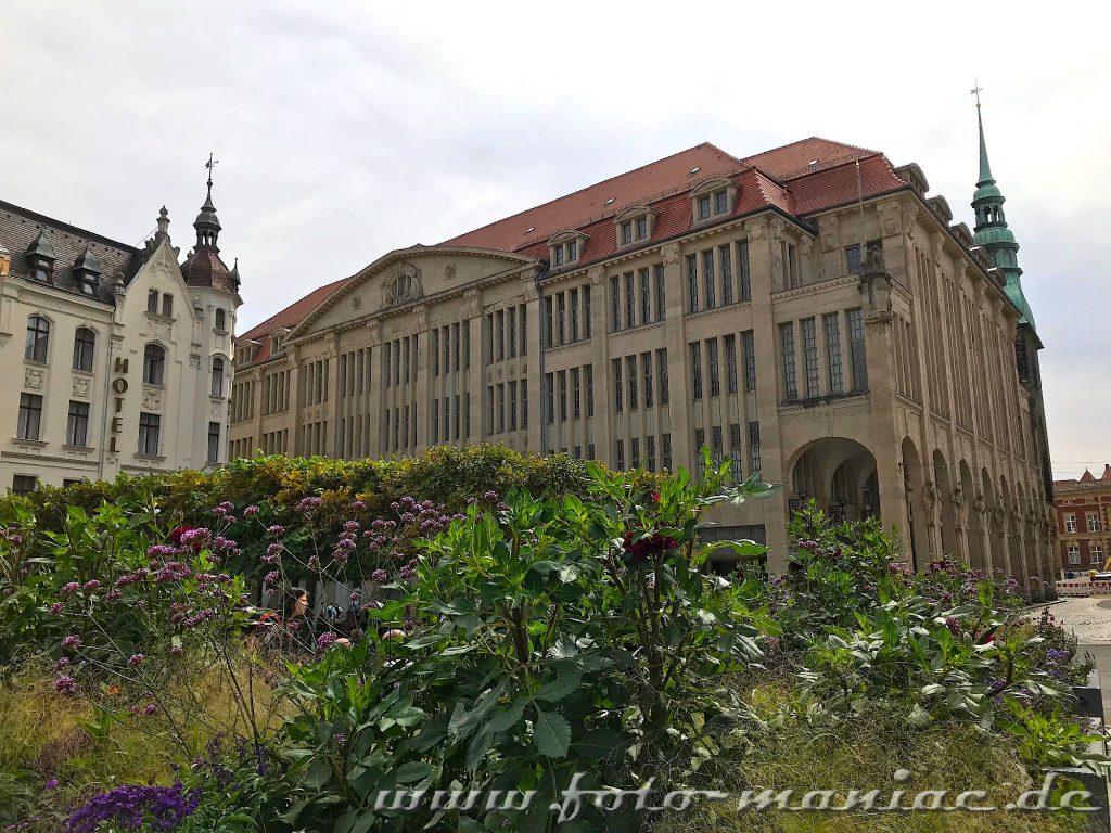 Kaufhaus in Görlitz von außen