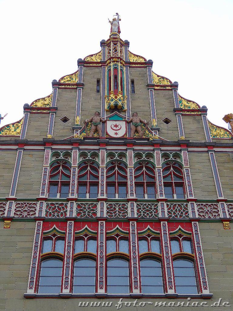 Fassade vom Landgericht Halle