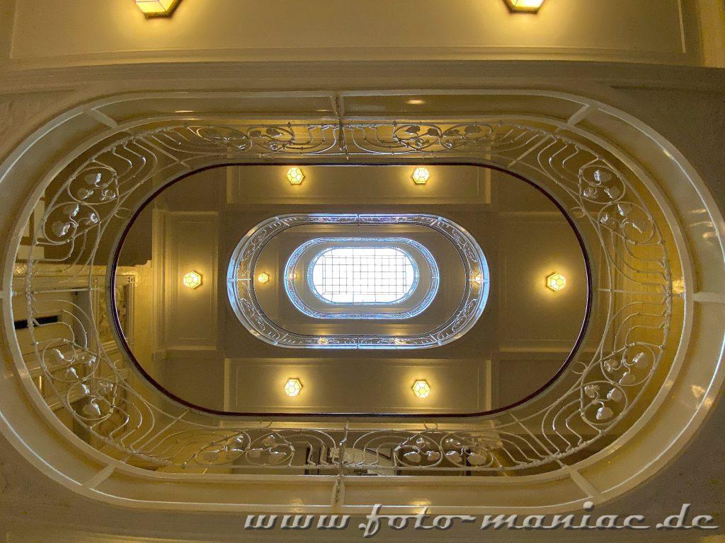 Hamburgs schöne Spiralen  auch im Asiahaus