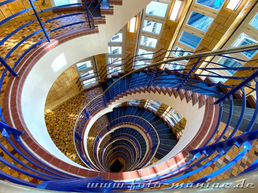 Hamburgs schöne Spiralen - Brahms Kntorhaus
