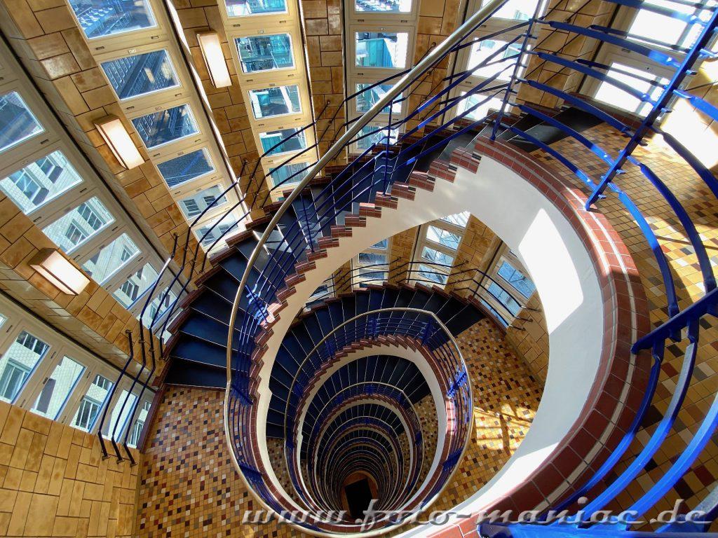 Hamburgs schöne Spiralen - Brahms Kontorhaus