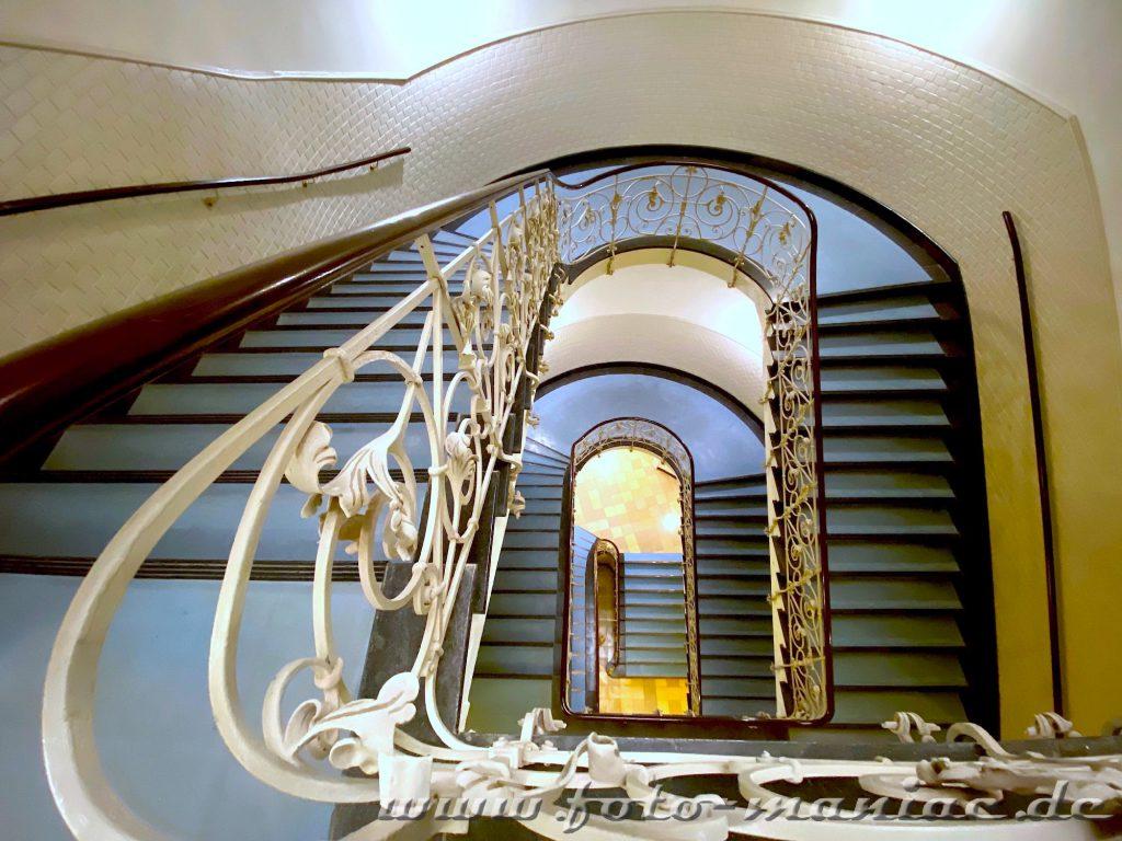 Hamburgs schöne Spiralen im Laeiszhof