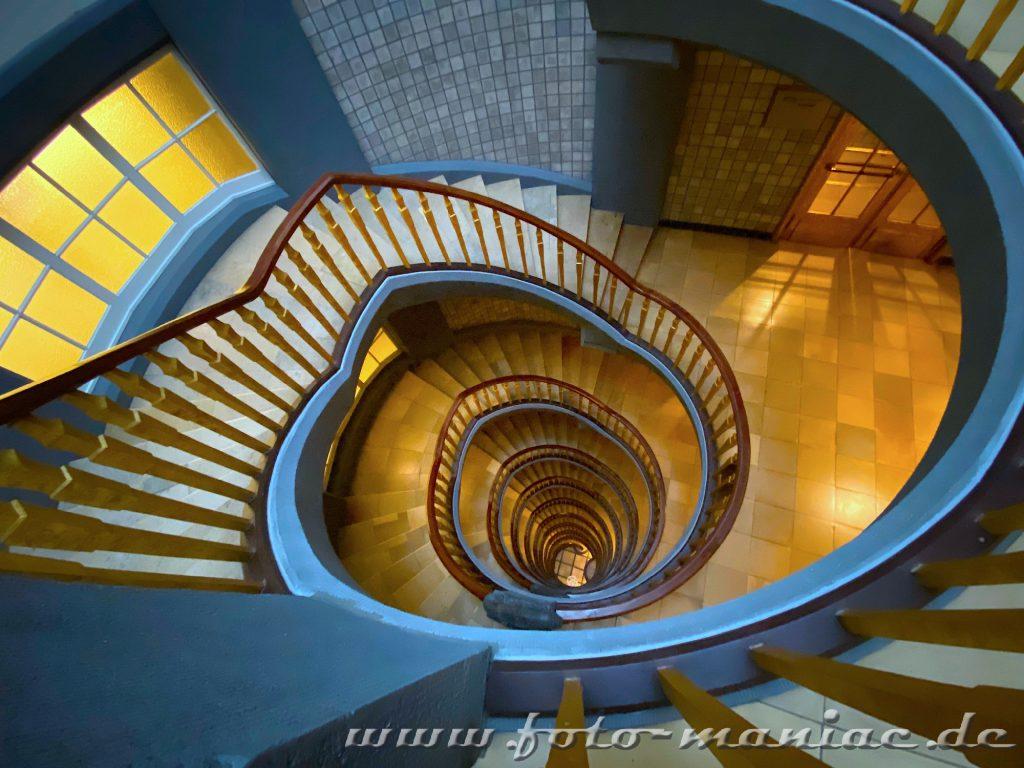 Hamburgs schöne Spiralen - Meßberghof