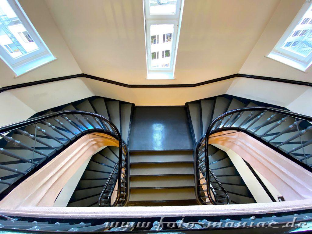Hamburgs schöne Spiralen im Montanhof