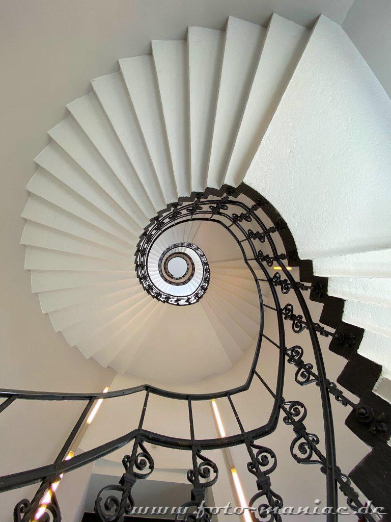 Hamburgs schöne Spiralen in er Alten Post