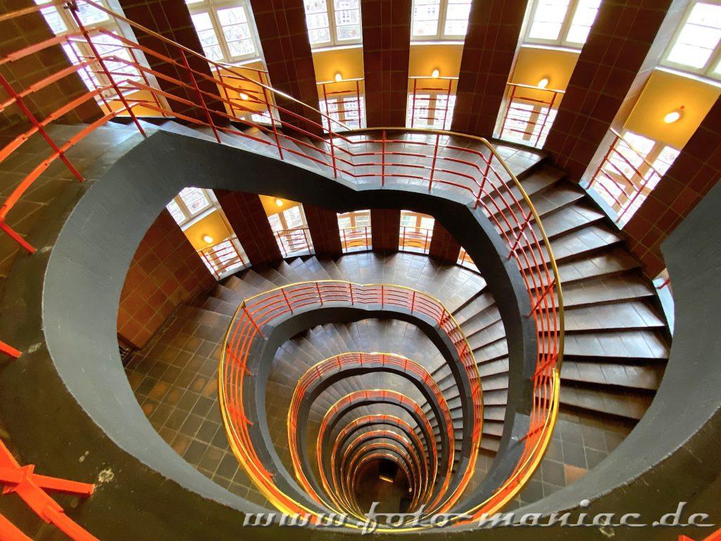 Hamburgs schöne Spiralen - Sprinkenhof