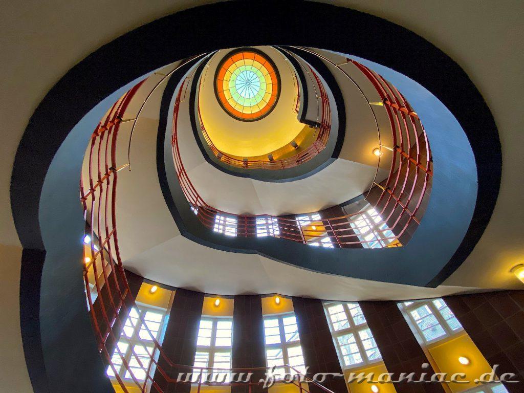 Hamburgs schöne Spiralen auch im Sprinkenhof