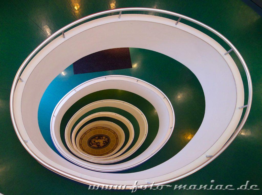 Hamburgs schöne Spiralen im Versmannhaus