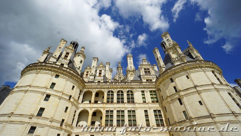 Vorderansicht von Chateau Chambord