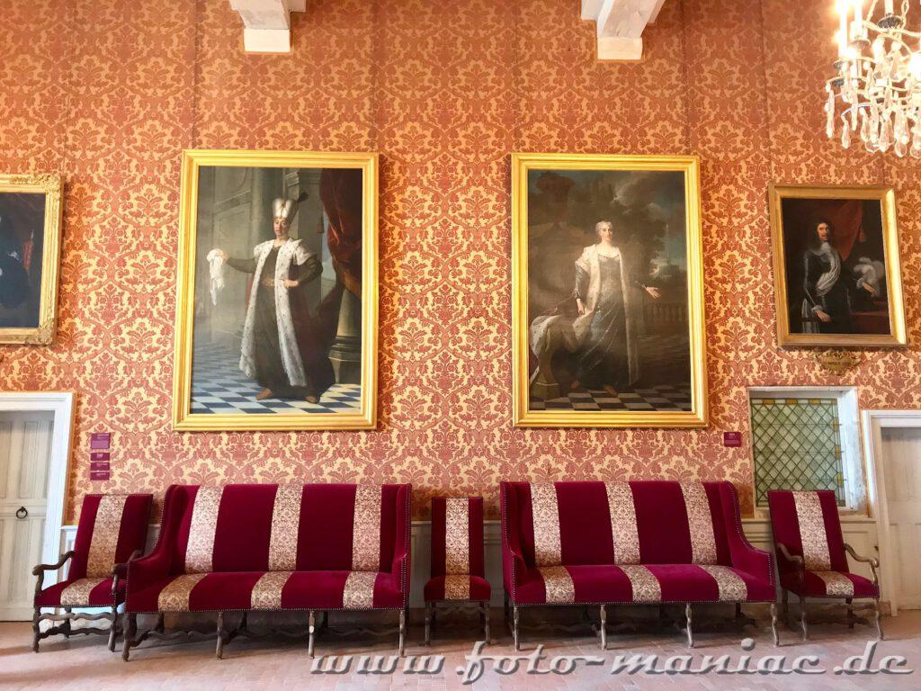 Gemach im majestätischen Chateau Chambord
