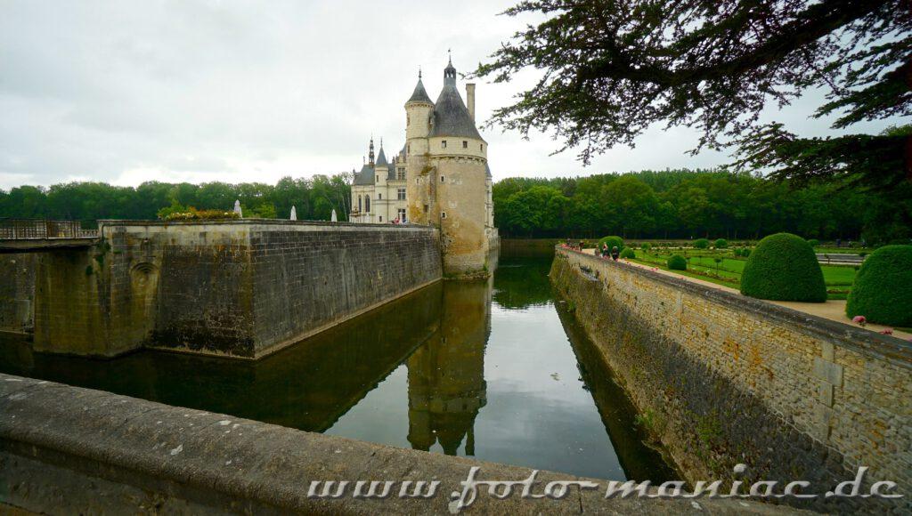 Der Bergfried von Chateau Chenonceau