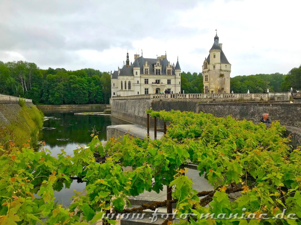 Das idyllische Chateau Chenonceau mit Bergfried