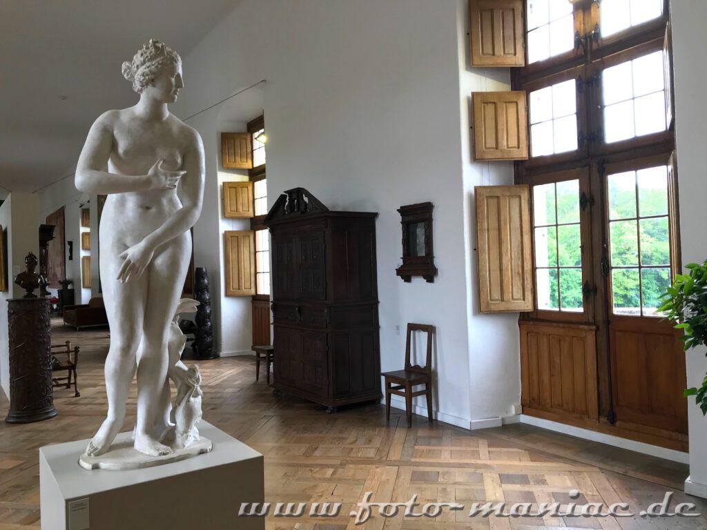 Nackte Venus im Chateau Chenonceau