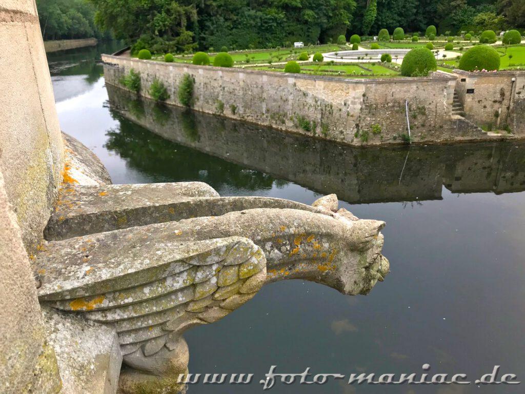 Blick in den Garten der Caterina de Medici