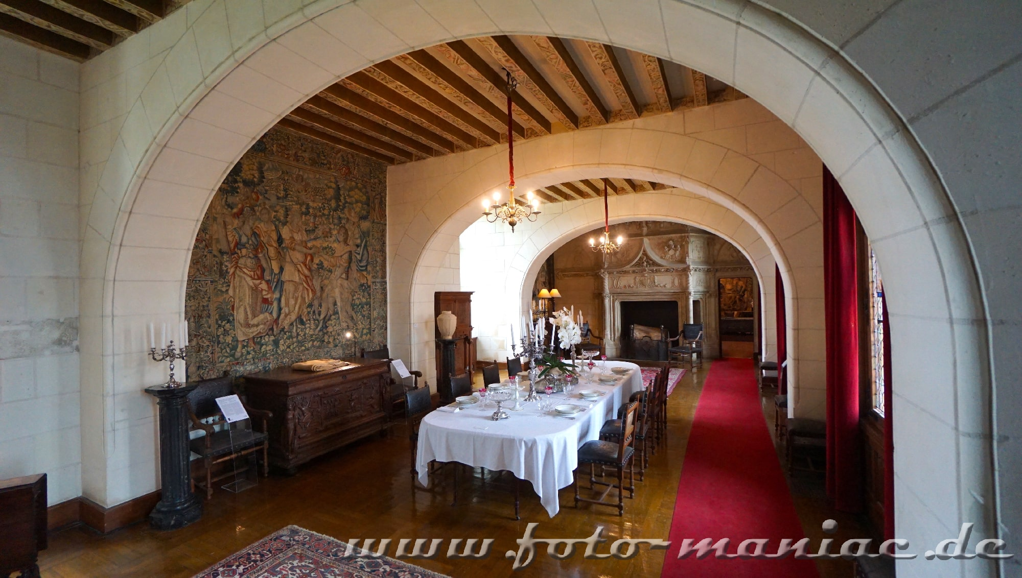 Speisezimmer Chateau Chaumont
