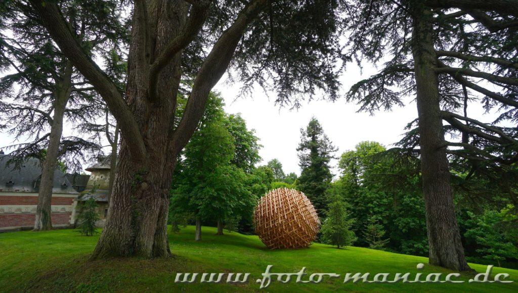 Installation im Park von Chateau Chaumont