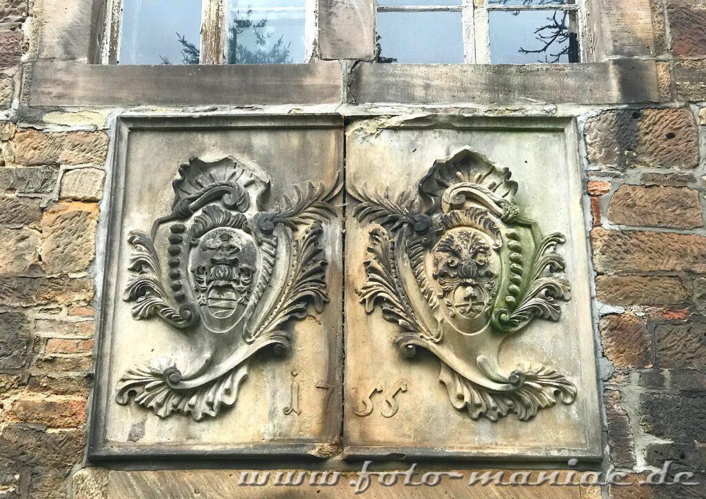 Wappen von Schloss Vitzenburg