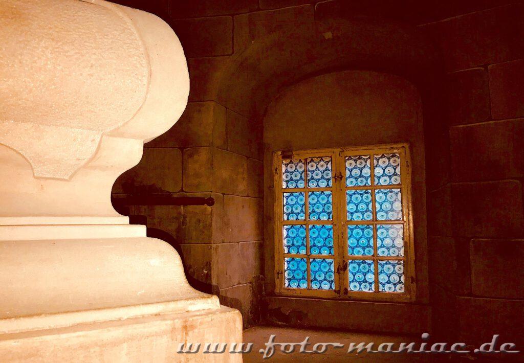 Treppenaufgang im traumhaften Schloss Vitzenburg
