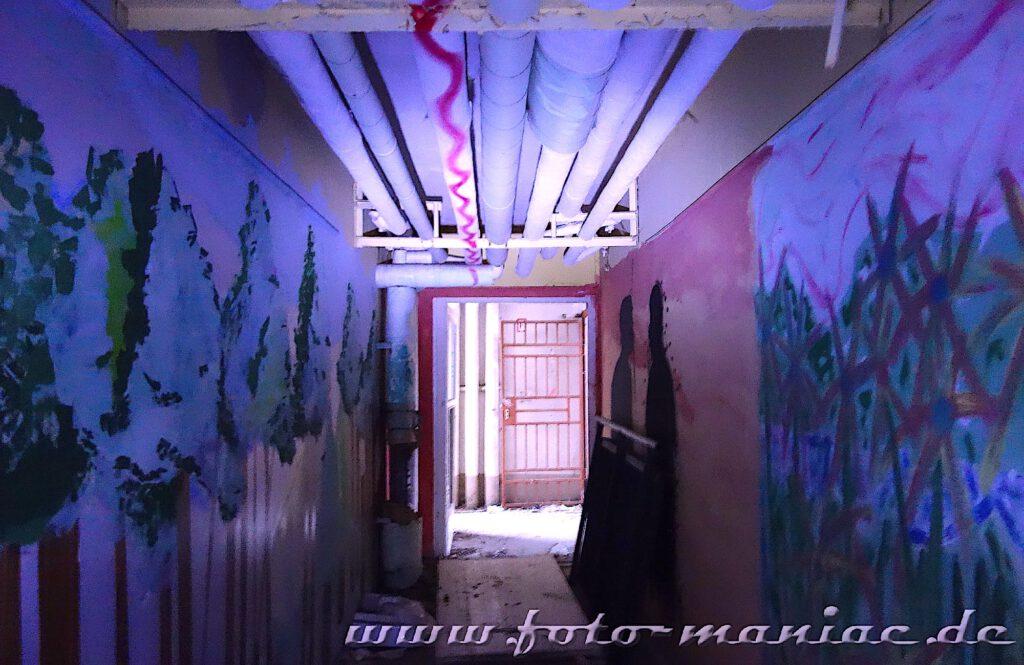 Marode Platte - Heizungsrohre verlaufen über der Decke