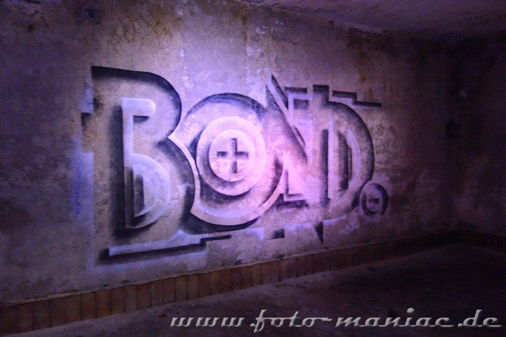 Graffito in der verlassenen Brauerei Sternburg