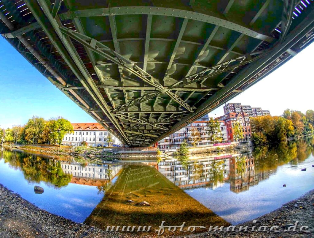 Gemzer Brücke - eine fotogene Ecke in Halle