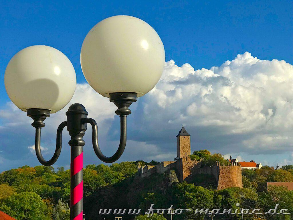 Die Burg Giebichenstein gehört zu den fotogenen Ecken in