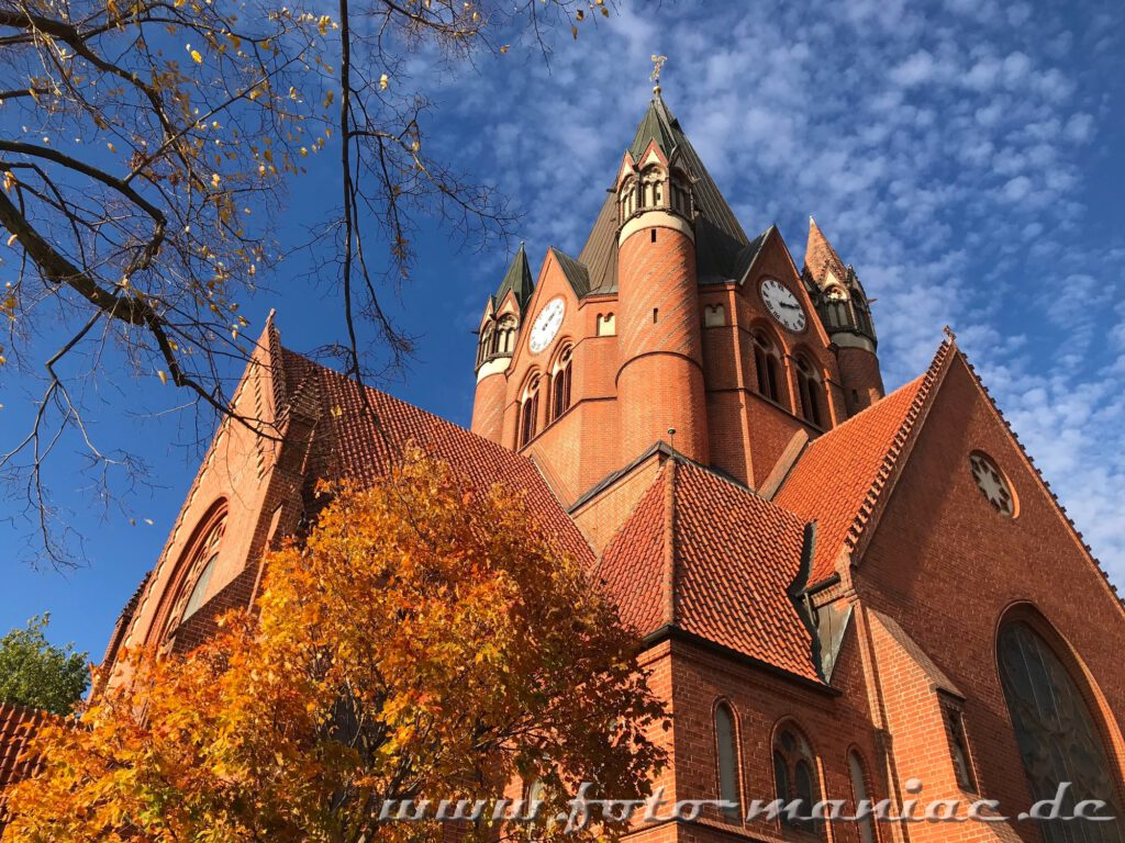 Die Pauluskirche gehört zu den fotogenen Ecken in Halle