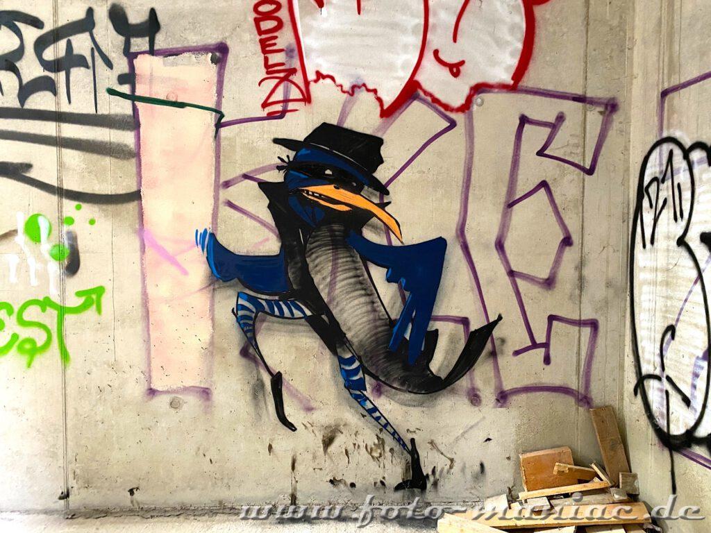 Vogel-Graffito
