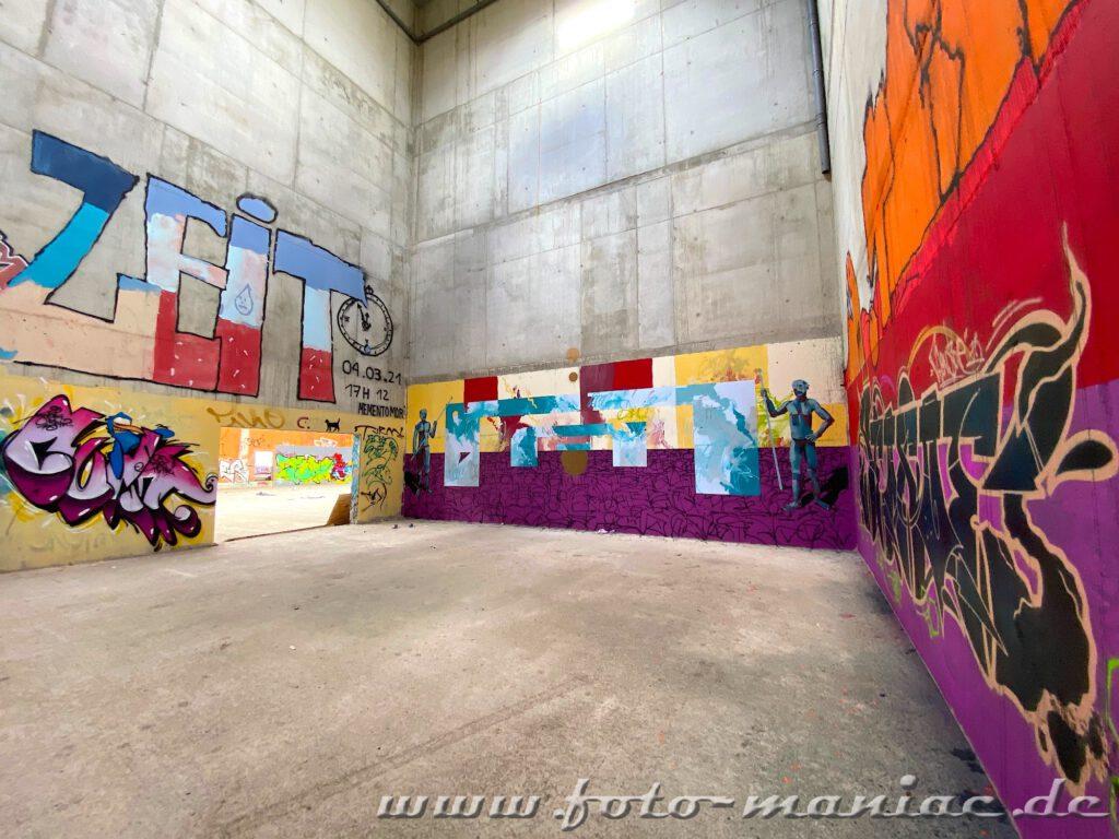 Ringsum alles Graffiti