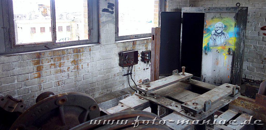 Werkstatt in der Brauerei