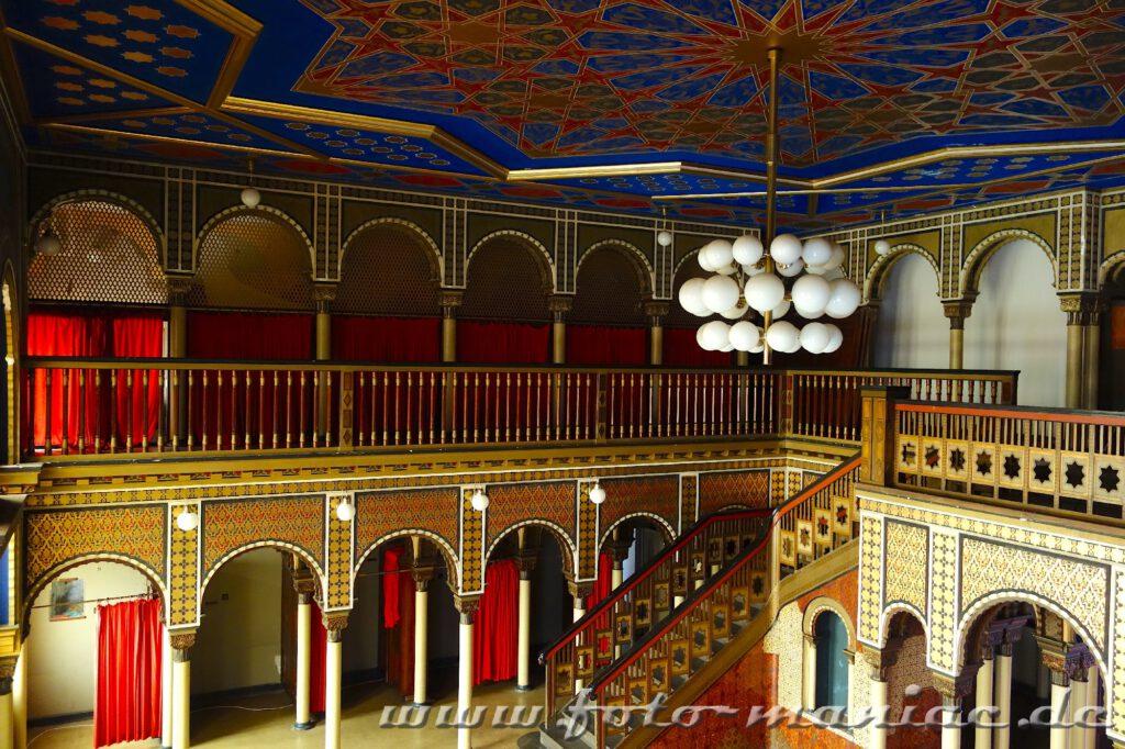 Orientalisches Bad im prächtigen Stadtbad Leipzig
