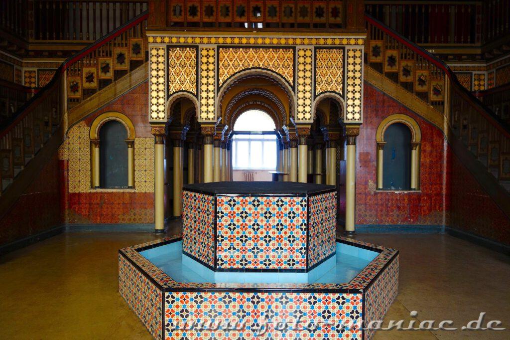 Brunnen im orientalischen Bad
