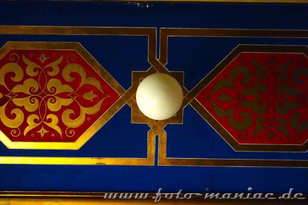 Schönes Dekor im orientalischen Bad