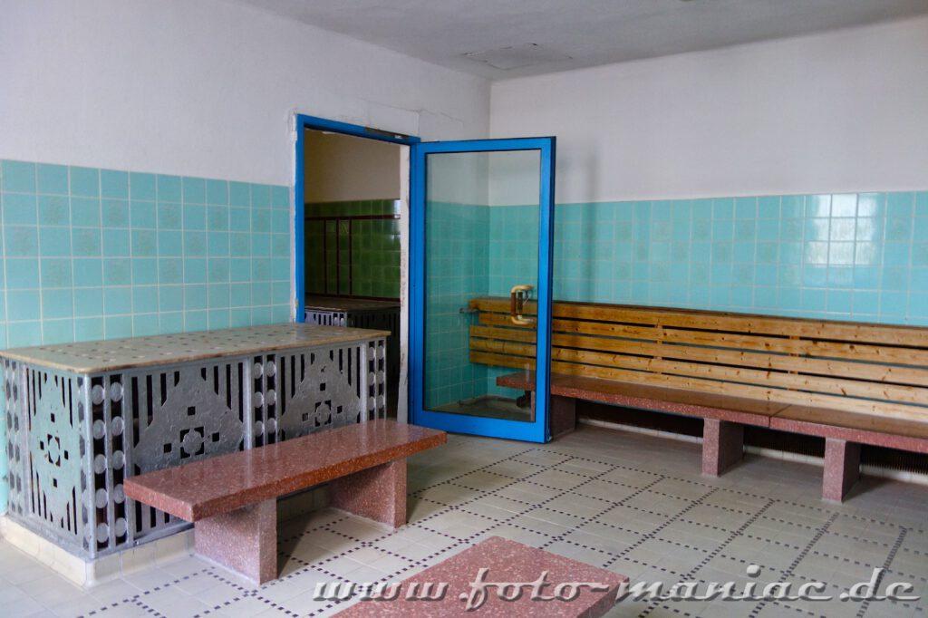 Sauna im Stadtbad