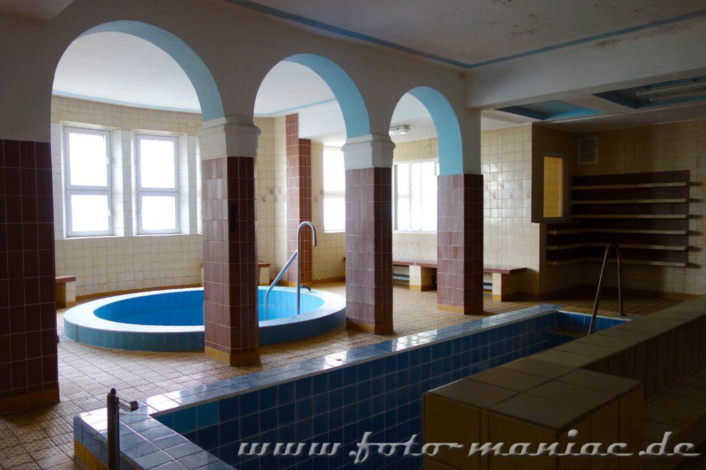 Saunabereich im Stadtbad Leipzig