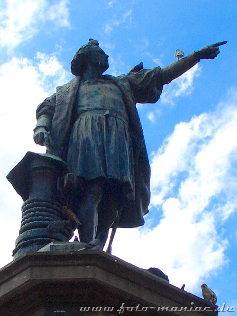 Kolumbus entdeckte das Paradies in der Karibik