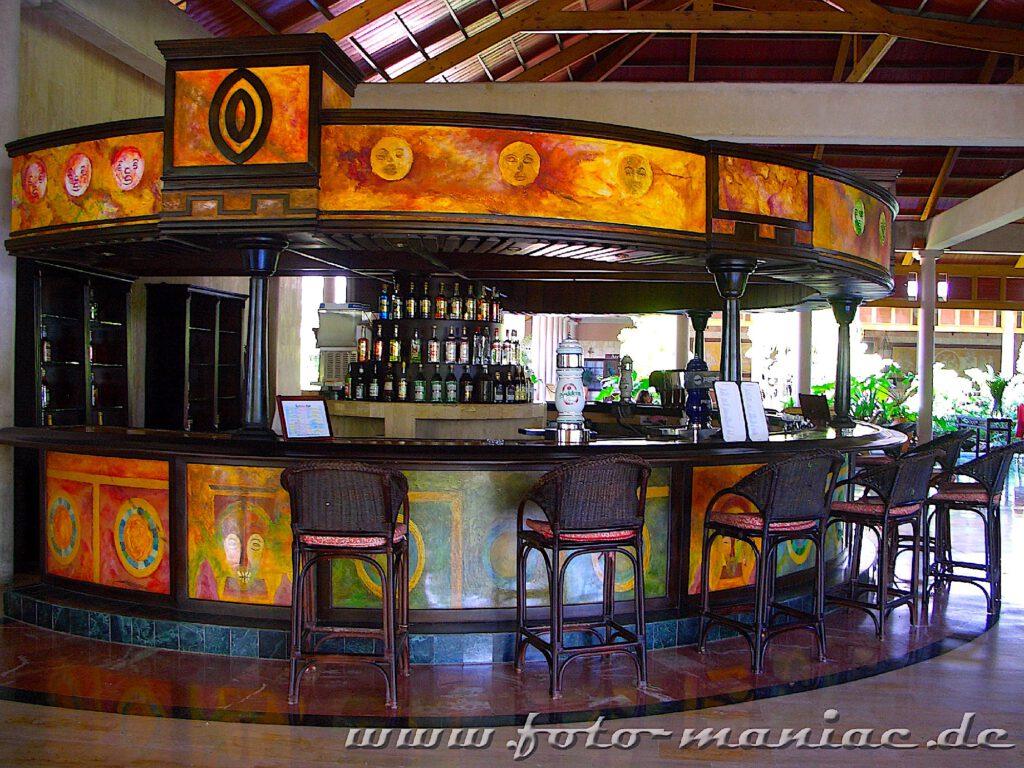 Bar-Tresen im Hotel in Punta Cana