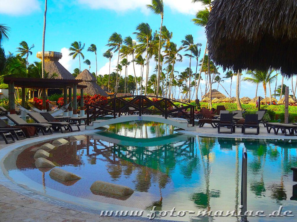 Pool im Ferienresort in Punta Cana