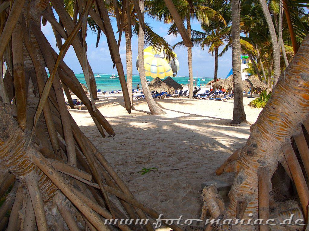 Unter Palmen finden sich überall ruhige Flecken zum Ausspannen