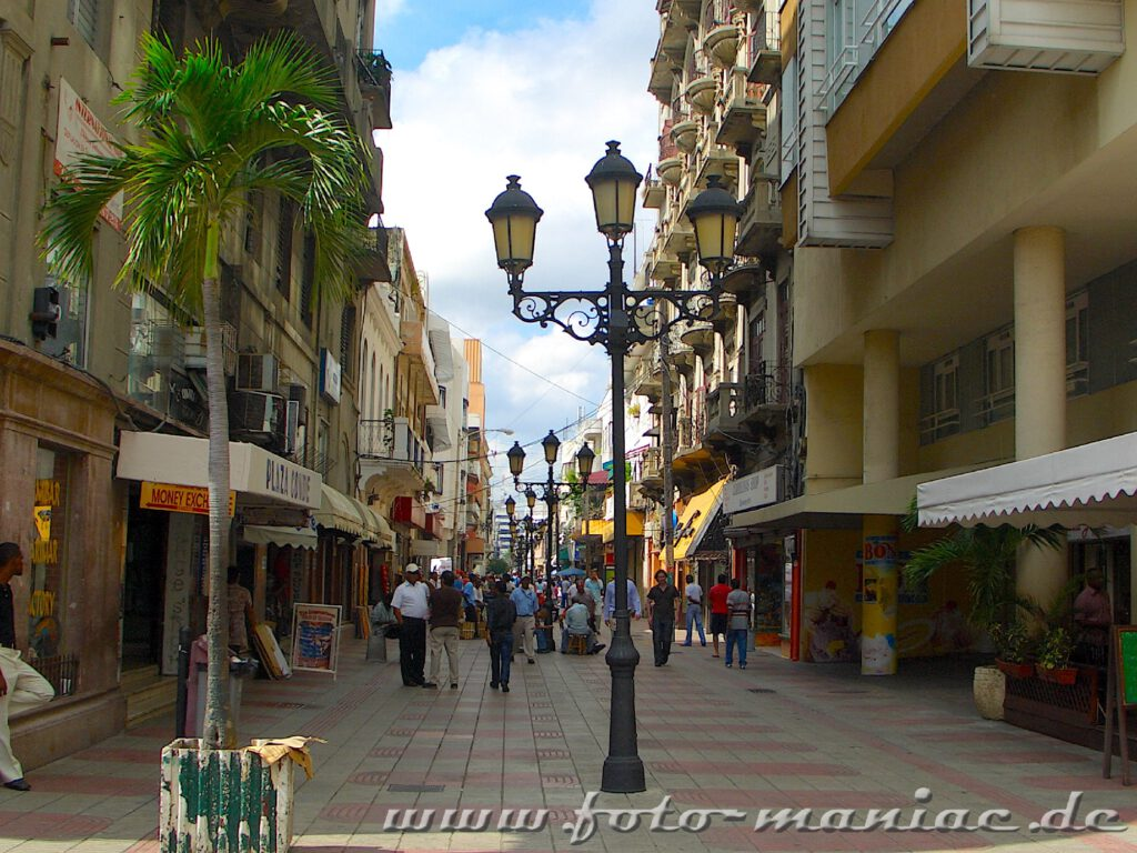 Innenstadt von Santo Domingo