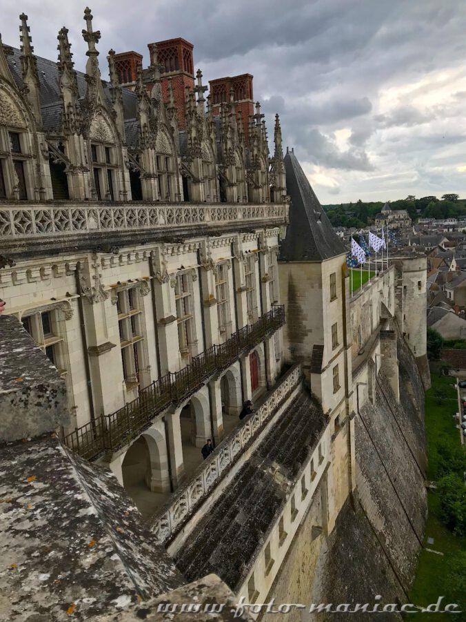 Gut geschützt - das Loire-Schloss Amboise
