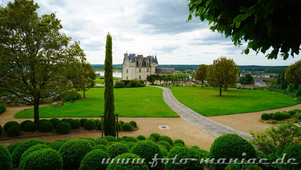 Schloss Amboise mit seinem schönen Garten