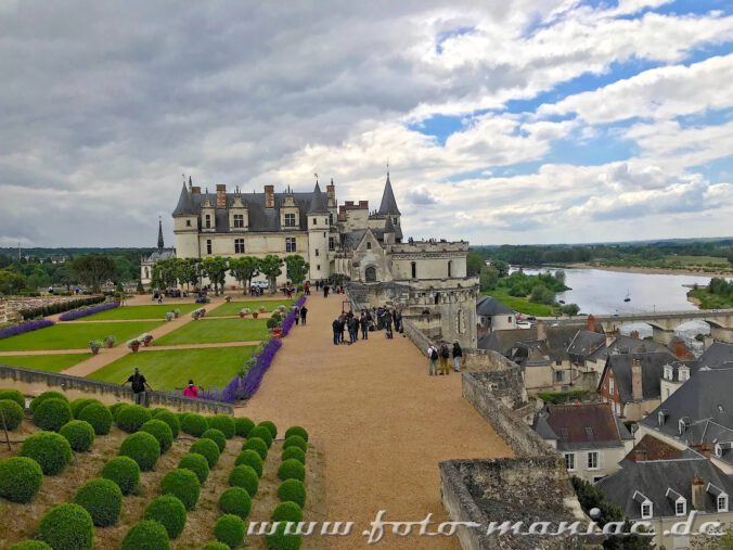 Ein Besuch im Schloss Amboise