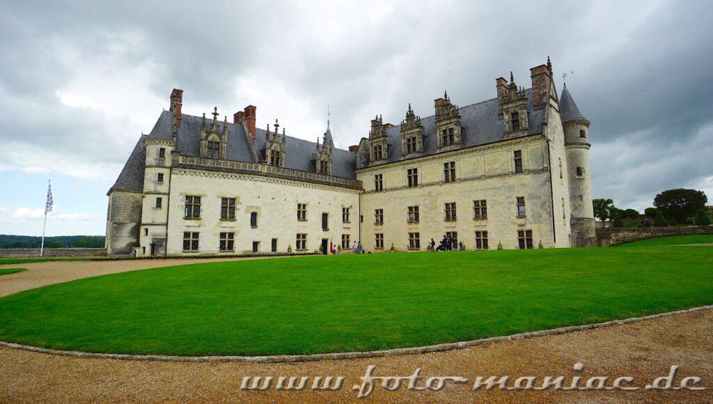 Die zweiflüglige Anlage von Schloss Amboise