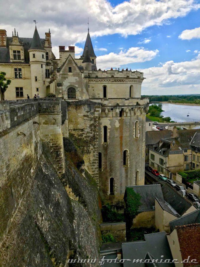 Sehr wehrhaft: das Loire-Schloss Amboise