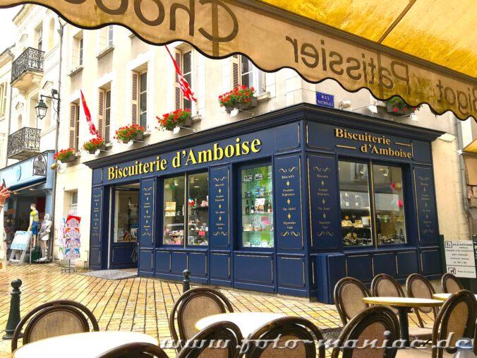 Auf Touristen ist man überall in Amboise eingestellt