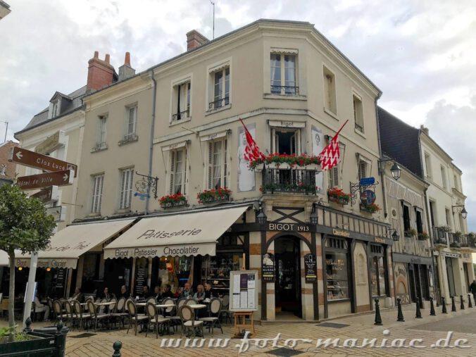 Touristen sind willkommen in Amboise