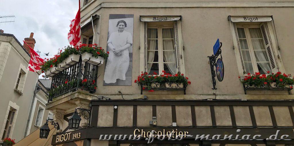 Nach dem Besuch im Schloss Amboise kann man in einen der kleinen Restaurants einkehren