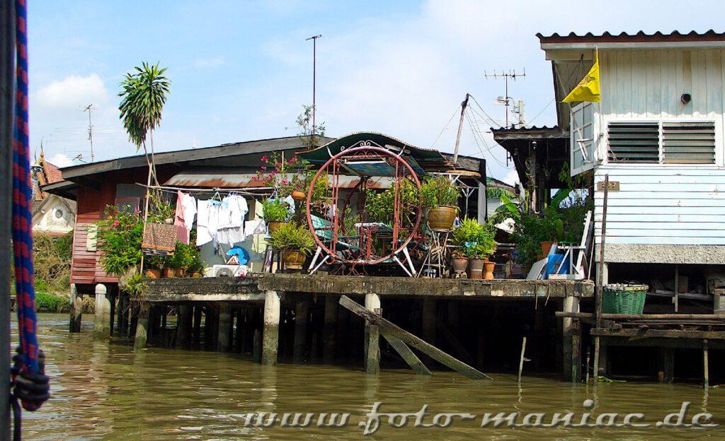 Eine Bootstour durch die Khlongs von Bangkok